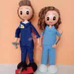 Fofucha Fontanero y Enfermera