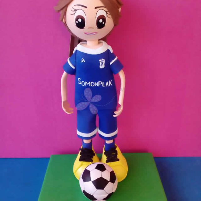 Fofucha Chica Futbolista