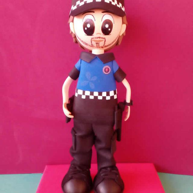 Fofucha Policia Local Mario