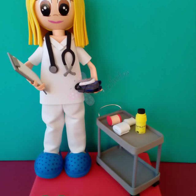 Fofucha Enfermera Maria